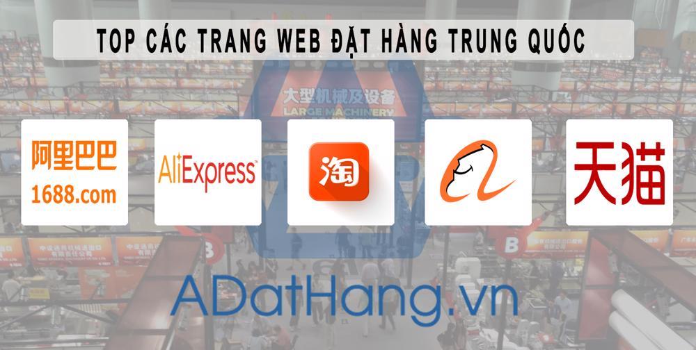 Các trang web order hàng Quảng Châu   5 trang web đặt hàng Trung Quốc online