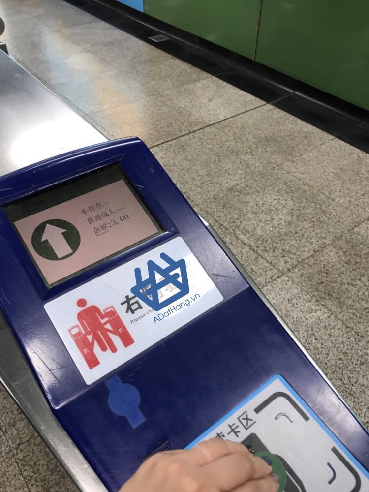 Cổng soát vé tàu điện ngầm Quảng Châu
