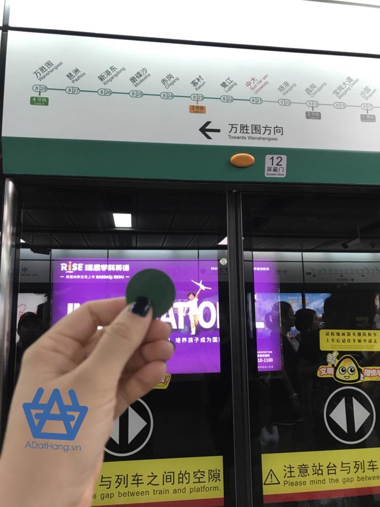 Xu đi tàu điện ngầm Quảng Châu